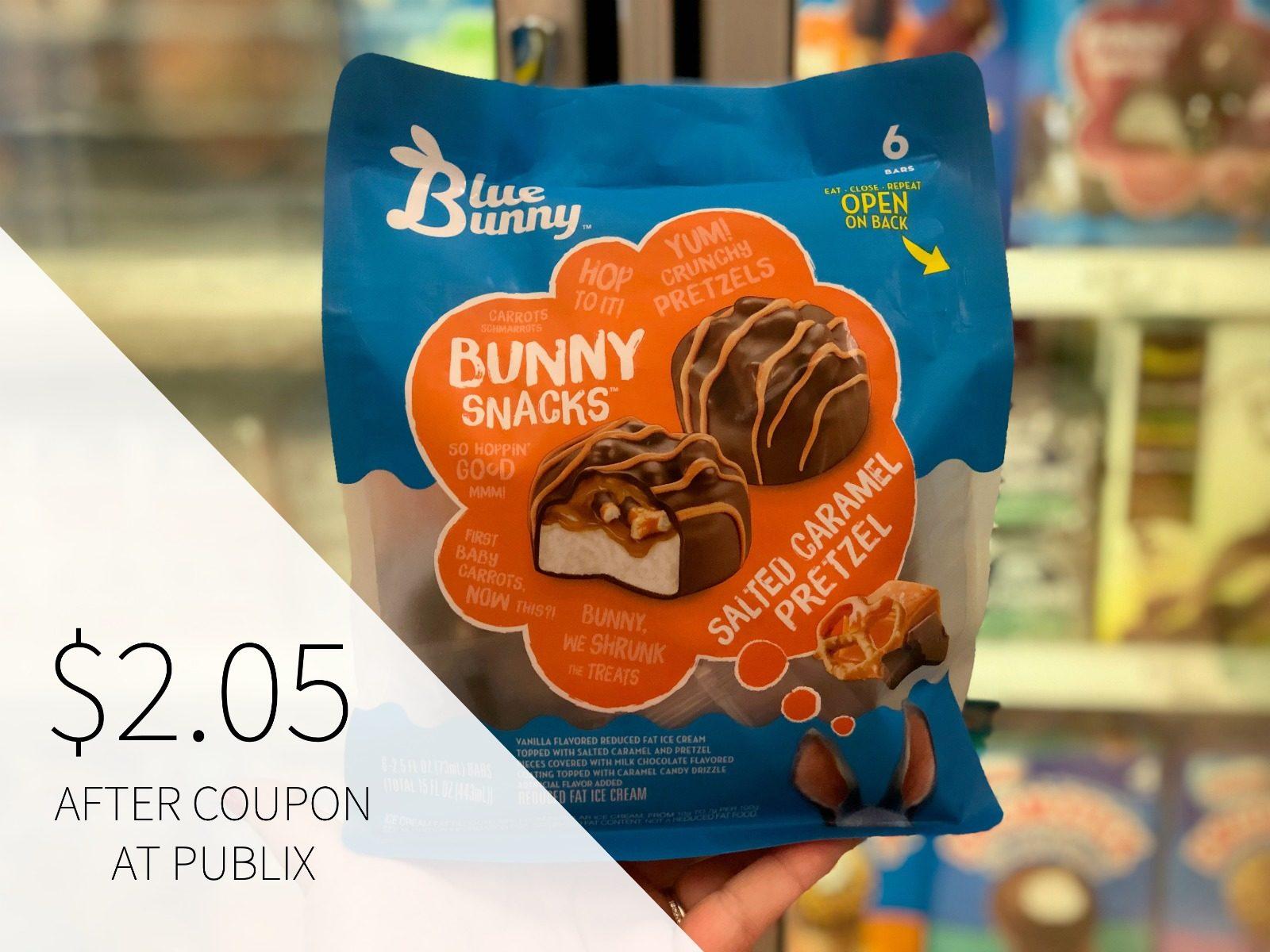 Blue Bunny Frozen Treats Only $1.95 At Publix on I Heart Publix 1