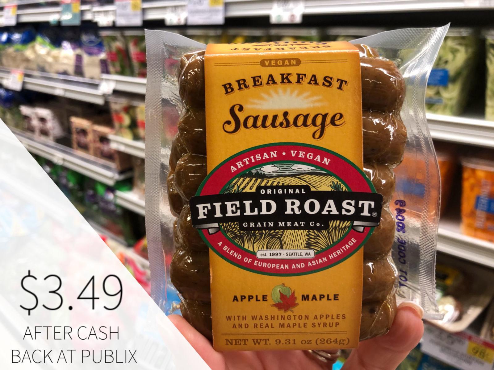 Field Roast Vegetarian Breakfast Sausage Just $3.99 At Publix (Save $2!) on I Heart Publix