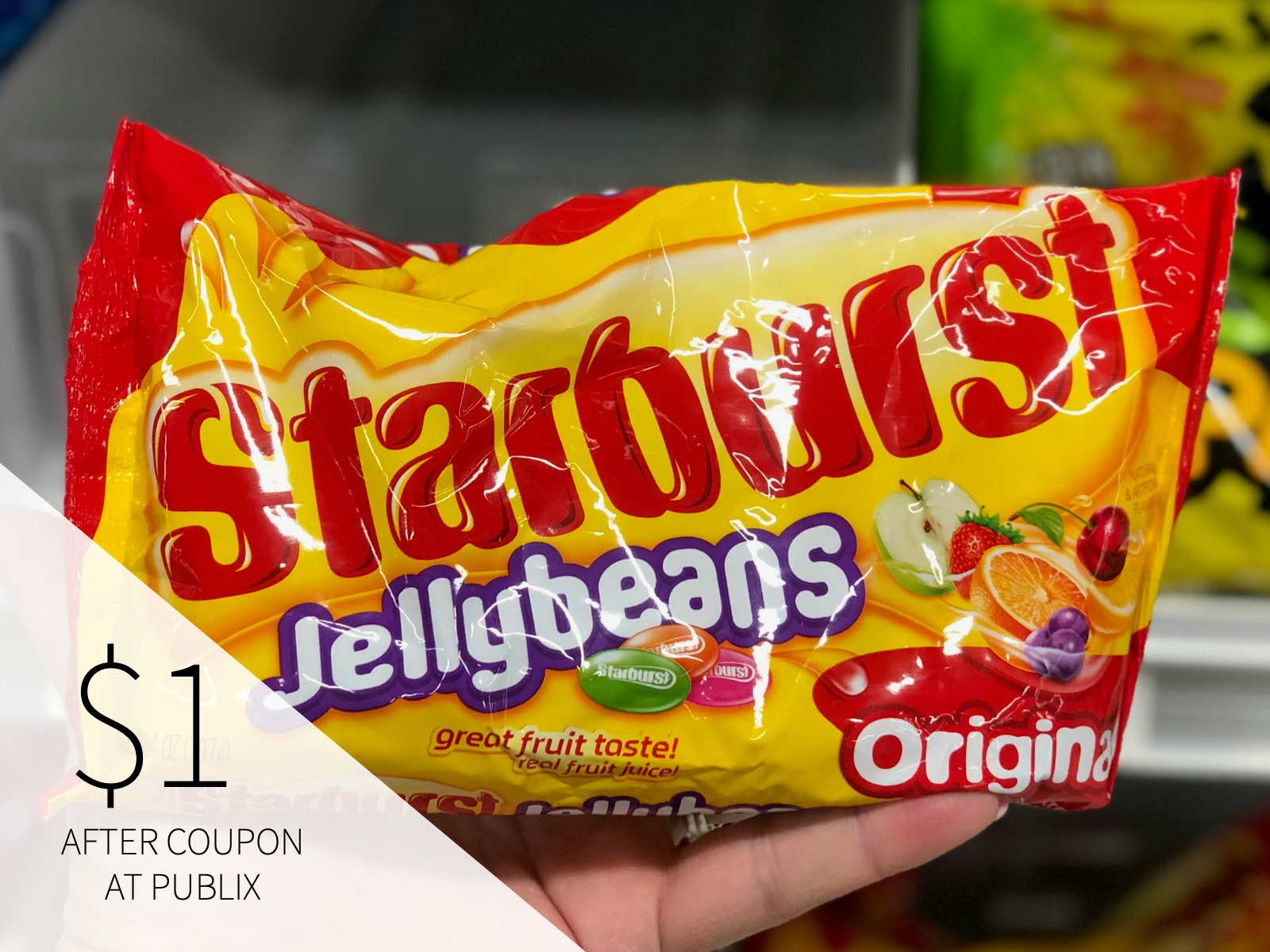 Starburst Jelly Beans Only 75¢ This Week At Publix on I Heart Publix 2
