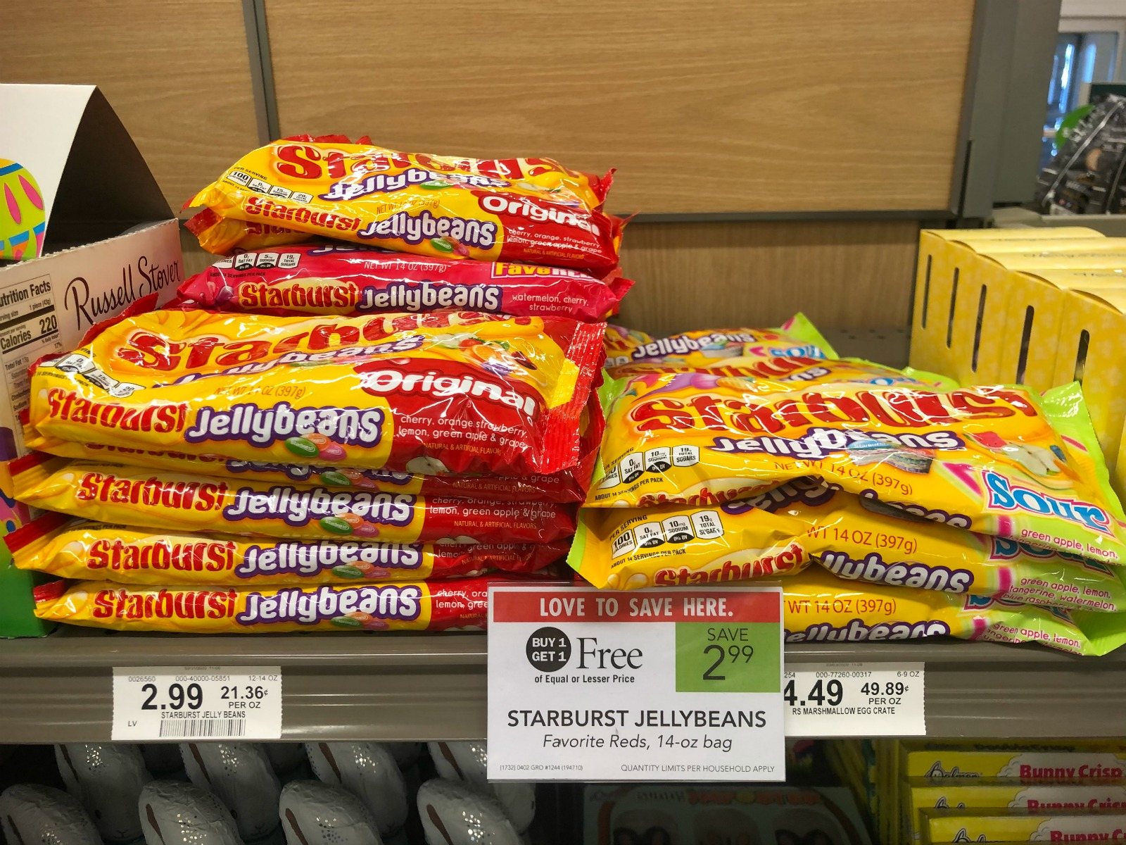 Starburst Jelly Beans Only 75¢ This Week At Publix on I Heart Publix 1