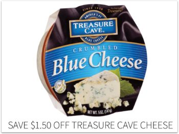 High Value Treasure Cave Cheese Coupon - Save $1.50! on I Heart Publix