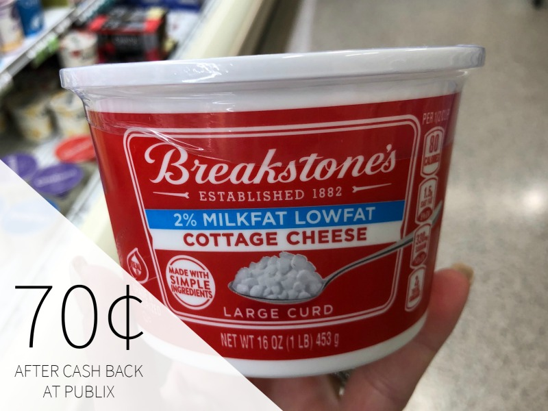 Breakstone's Cottage Cheese Just 70¢ At Publix on I Heart Publix