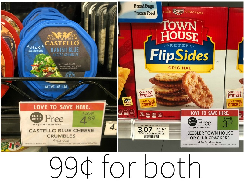 Great Deal on Castello Cheese AND Keebler Town House Crackers on I Heart Publix
