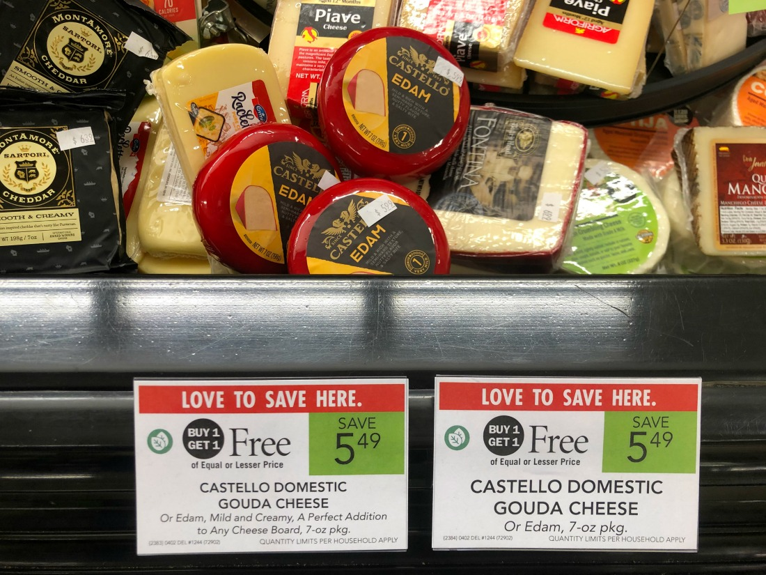 Great Deal on Castello Cheese AND Keebler Town House Crackers on I Heart Publix 1