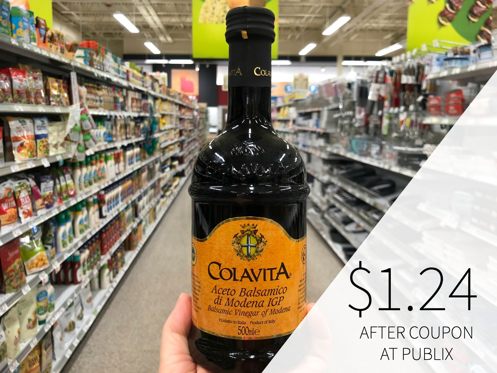 Colavita Balsamic Vinegar Only $1.24 At Publix (Save Over $4) on I Heart Publix