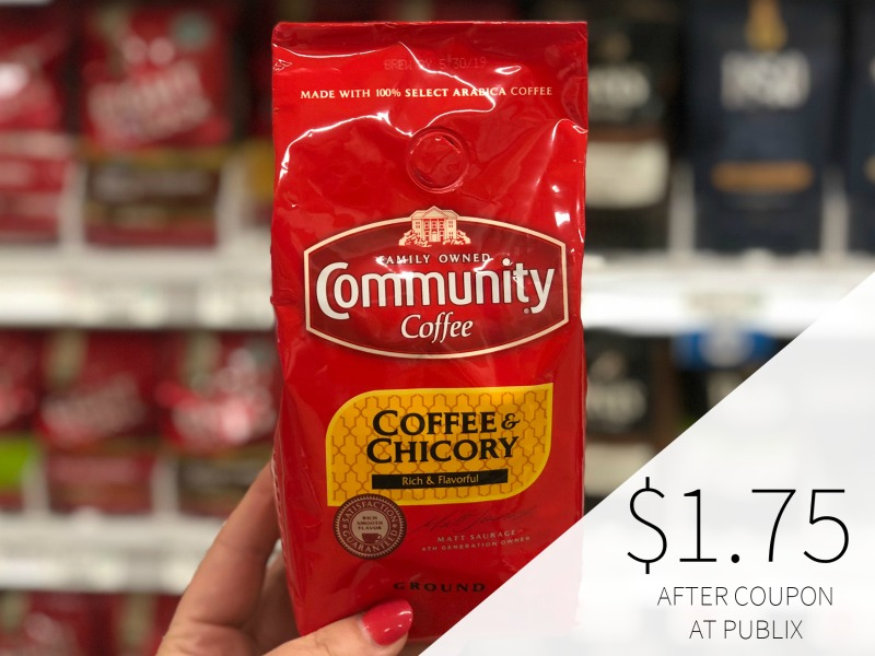 Community Coffee Bags As Low As $1.75 At Publix (Plus $1.86 K-Cups Boxes) on I Heart Publix 1