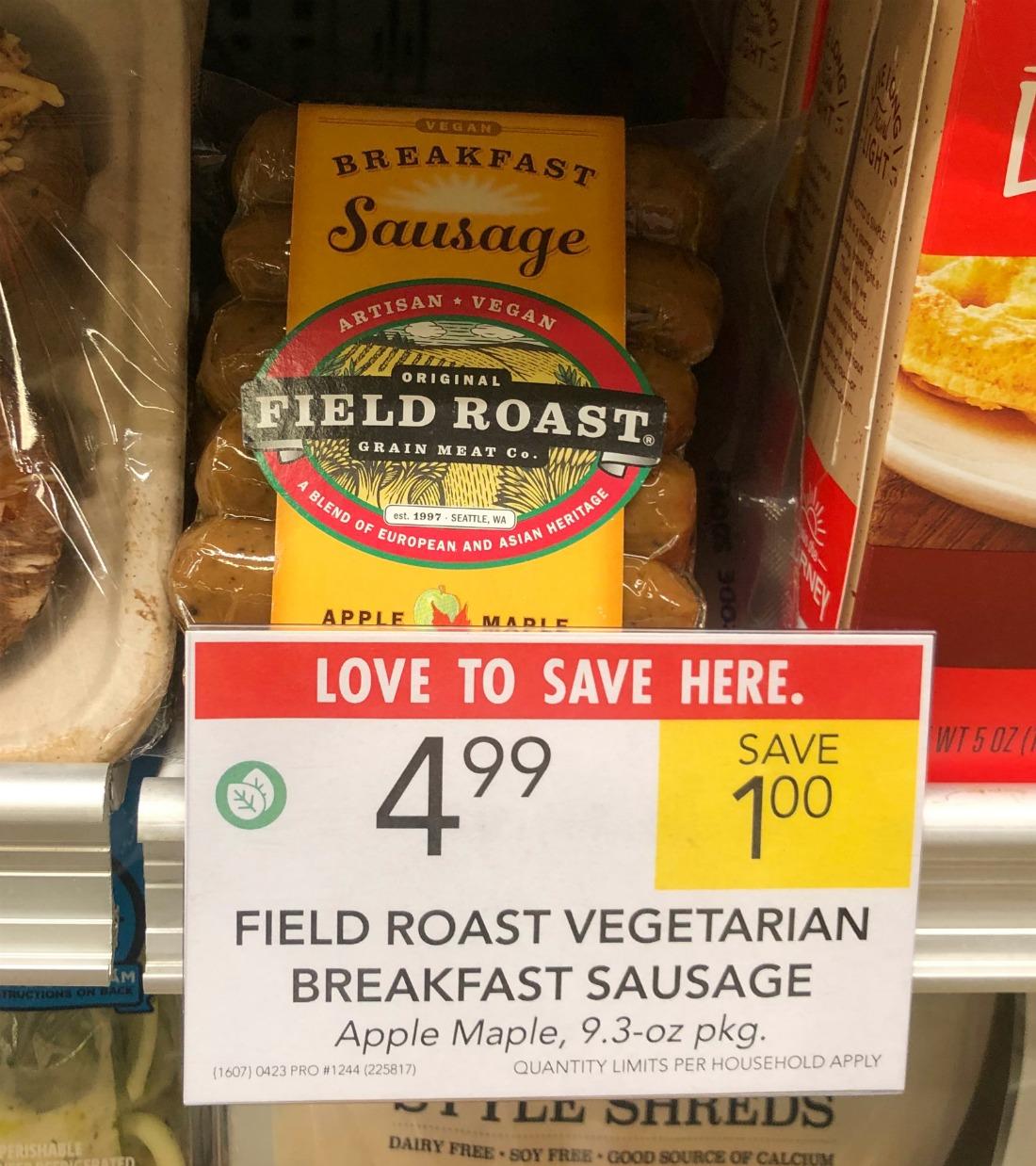 Field Roast Vegetarian Breakfast Sausage Just $3.49 At Publix (Save $2!) on I Heart Publix