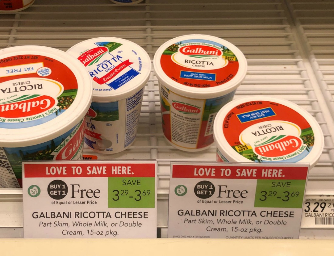 Galbani Ricotta Just 65¢ At Publix (Plus Cheap String Cheese) on I Heart Publix 2