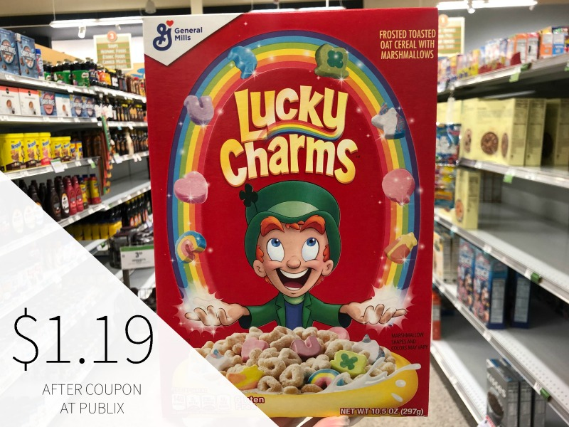 BIG Boxes of General Mills Cereal - Still Just $2.30 At Publix on I Heart Publix 1