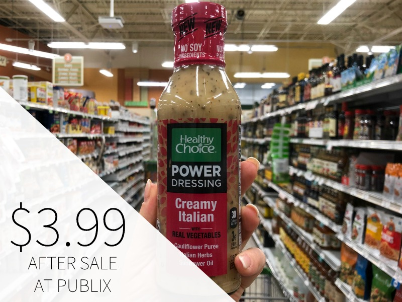 Healthy Choice Power Dressing Just $3.99 (Save $2) on I Heart Publix