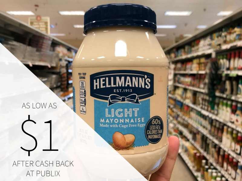 Hellmann's Mayonnaise As Low As $1.50 At Publix on I Heart Publix
