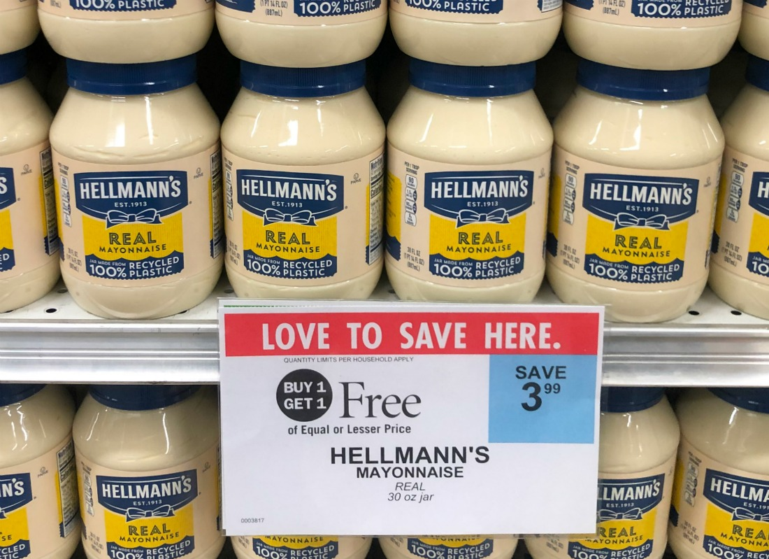 Hellmann's Mayonnaise As Low As 30¢ At Publix on I Heart Publix
