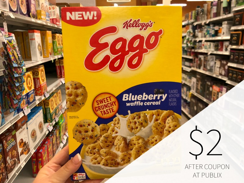 Kellogg's Eggo Cereal Coupon For Publix Sale on I Heart Publix 1