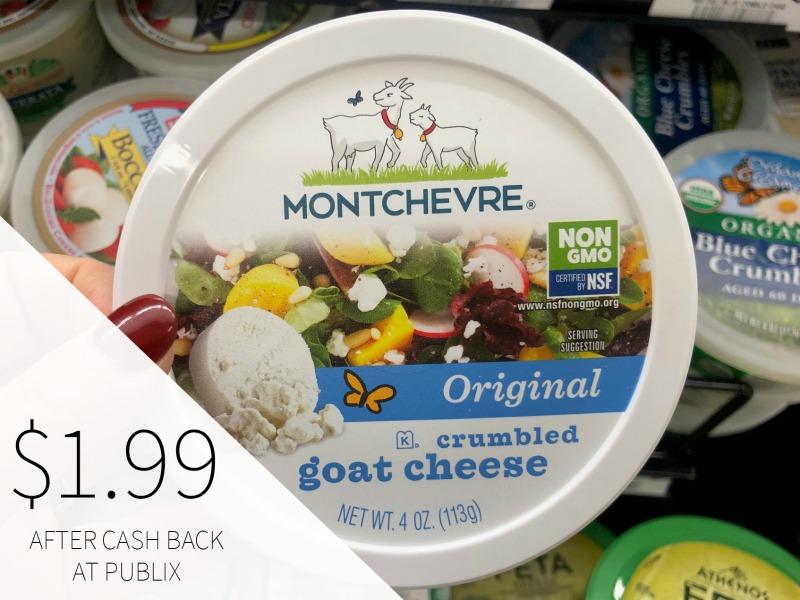 Montchevre Crumbled Goat Cheese Just $1.99 on I Heart Publix 1