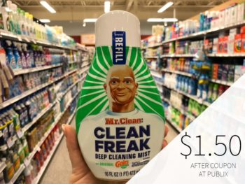 Mr. Clean Multi-Surface Cleaner Or Magic Erasers Just $2.50 At Publix on I Heart Publix 1