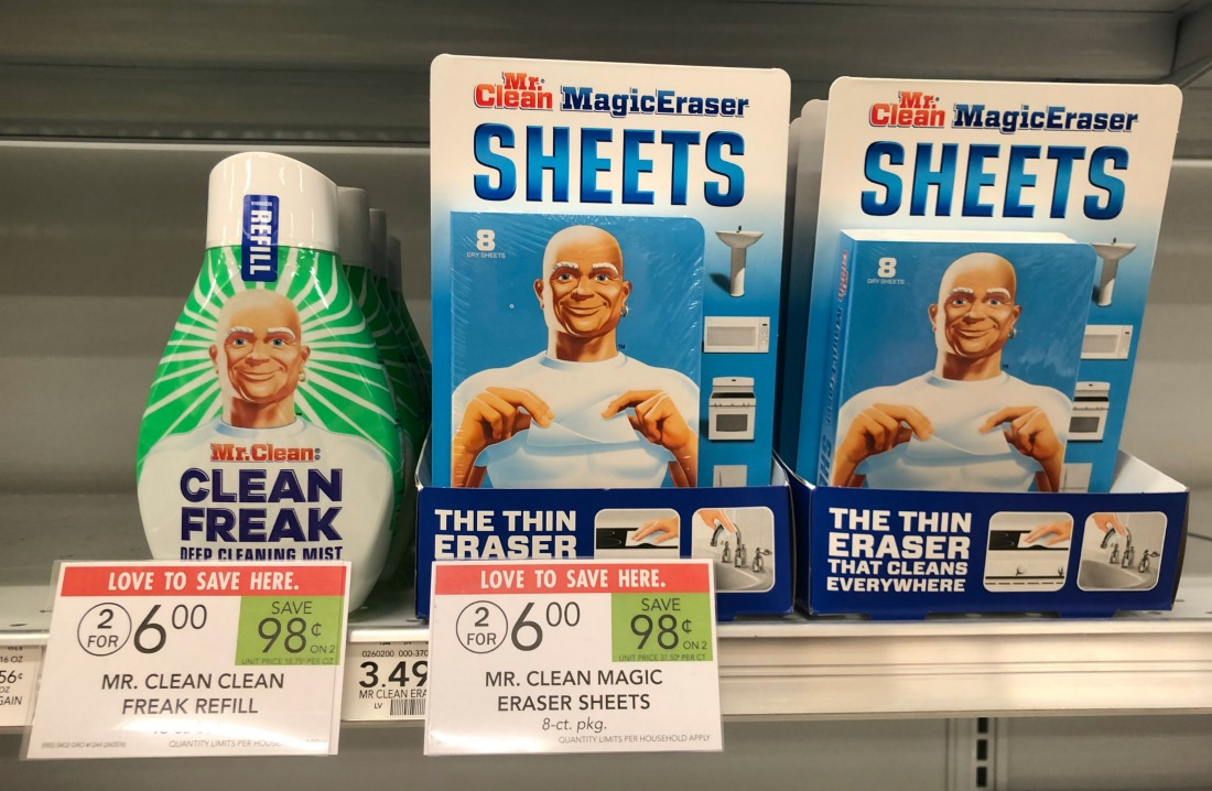 Mr. Clean Multi-Surface Cleaner Or Magic Erasers Just $2.50 At Publix on I Heart Publix