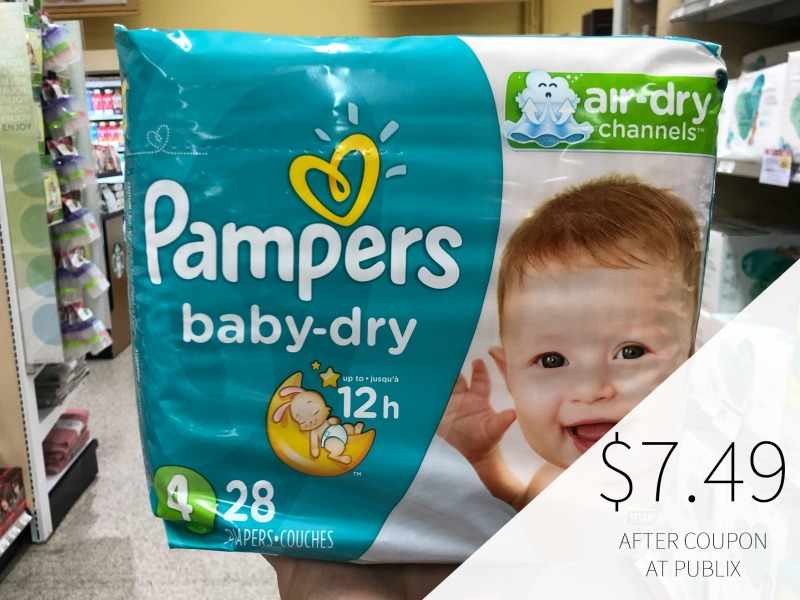 New Pampers Diapers Coupon - Just $6.99 Per Pack At Publix on I Heart Publix 3