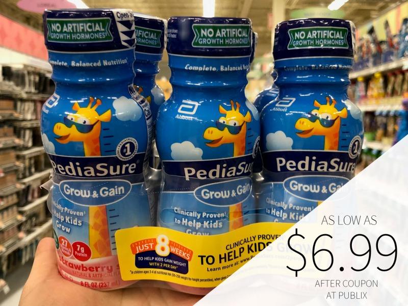 PediaSure Grow & Gain Just $6.29 At Publix (Almost Half Off!) on I Heart Publix 4