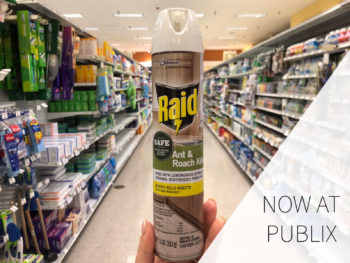 Look For Raid® Ant And Roach With Essential Oils At Your Local Publix on I Heart Publix 1