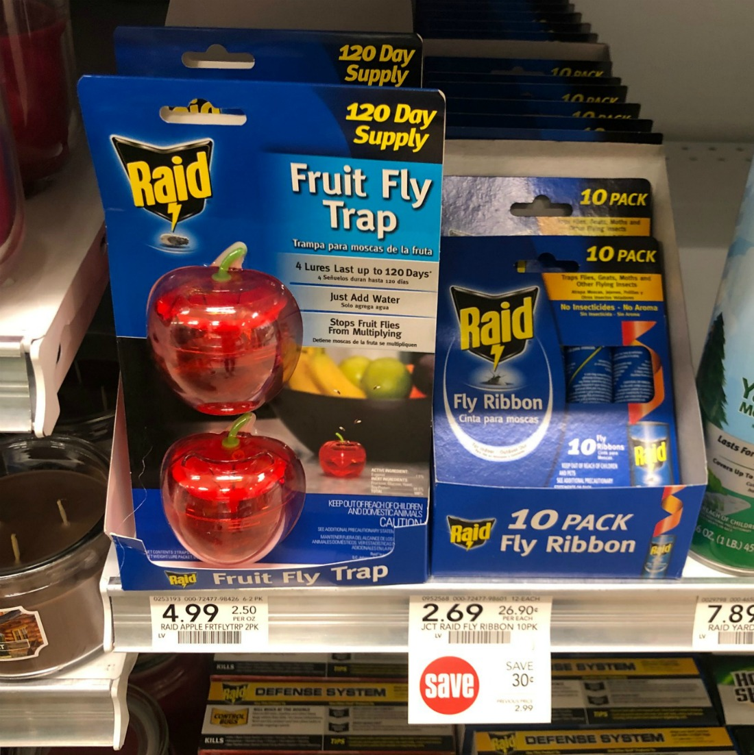 New Raid & Off! Coupons To Print - Get Fly Ribbons For Just $2.04 At Publix on I Heart Publix