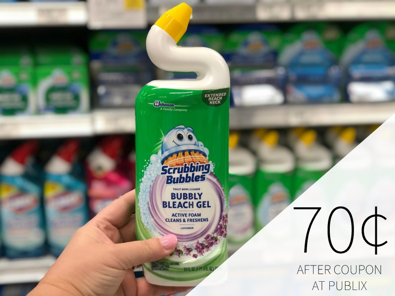 Scrubbing Bubbles Toilet Bowl Cleaner Only 91¢ At Publix on I Heart Publix 1