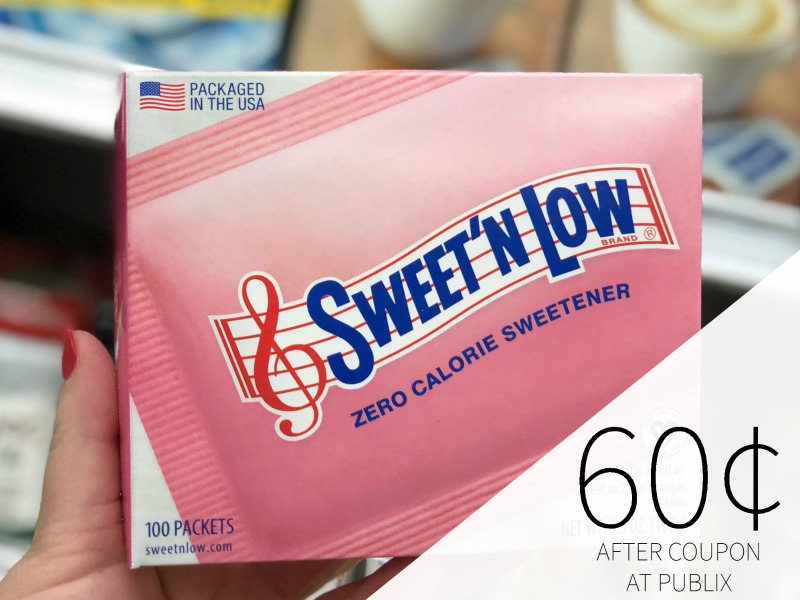 Lots Of New Sweetener Coupons - Sweet'N Low Just $1.44 At Publix on I Heart Publix