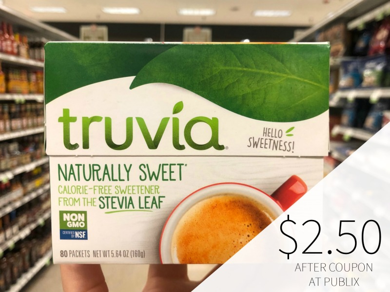 Truvia Sweetener Only 99¢ At Publix on I Heart Publix