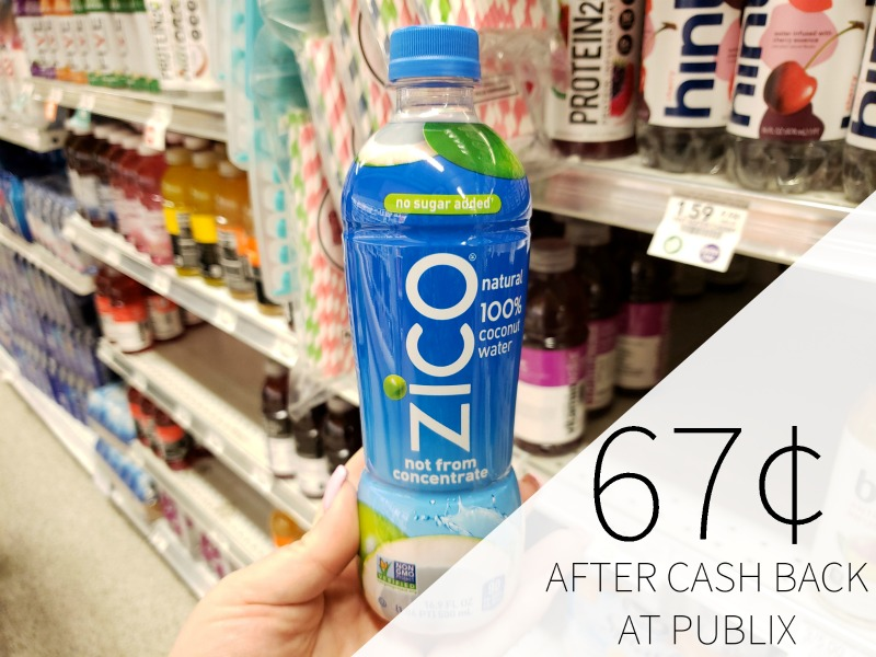 Zico Coconut Water Just 67 At Publix