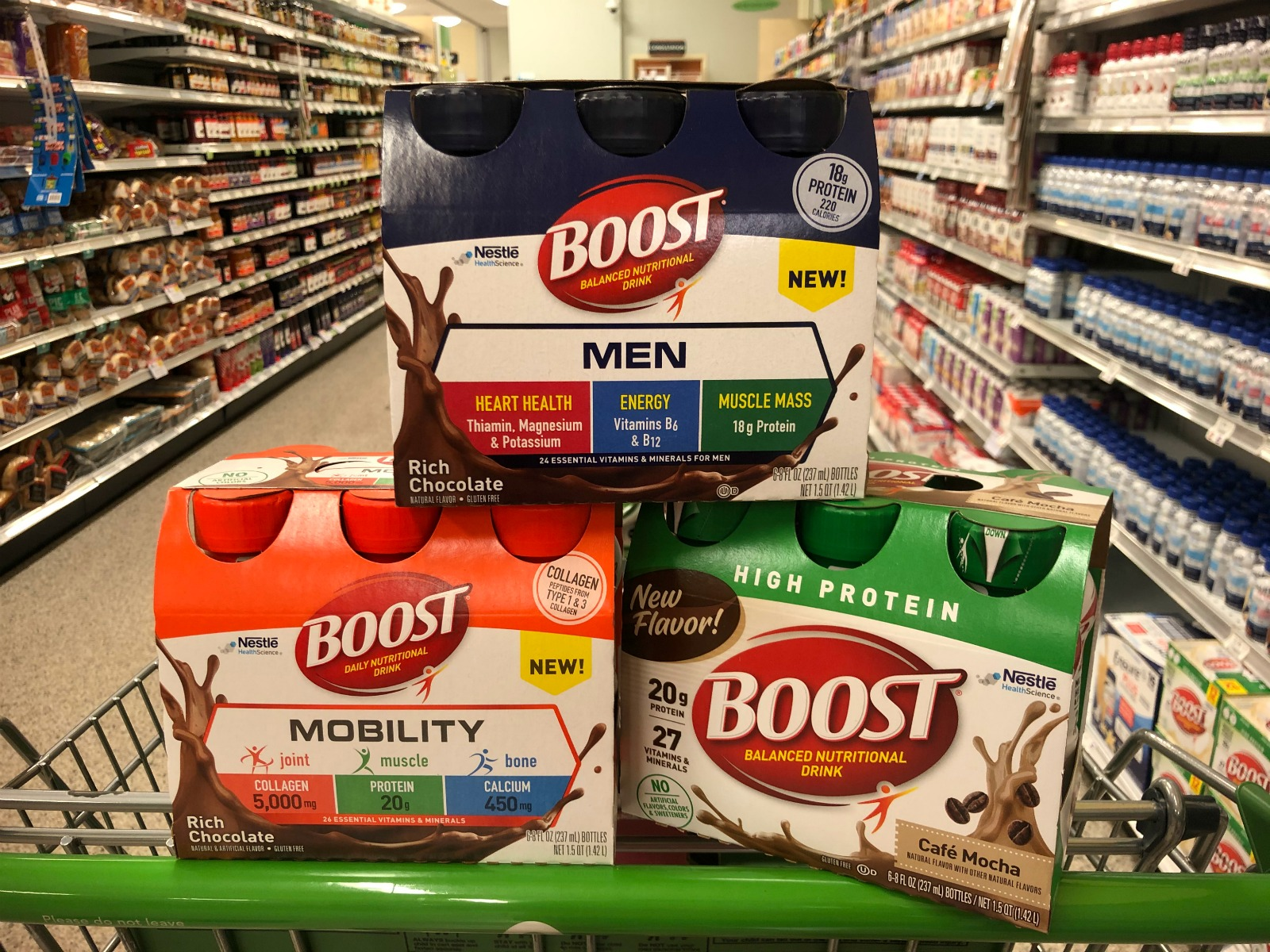 Grab Your Favorite BOOST® Nutritional Drinks As Low As $3.82 Per Pack At Publix on I Heart Publix