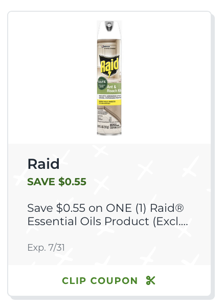 Now At Publix - Raid® Ant and Roach with Essential Oils! on I Heart Publix
