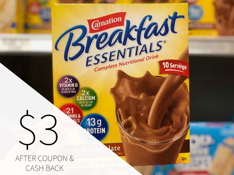 Carnation Breakfast Essentials As Low As $1.49 At Publix (15¢ Per Serving) on I Heart Publix 1