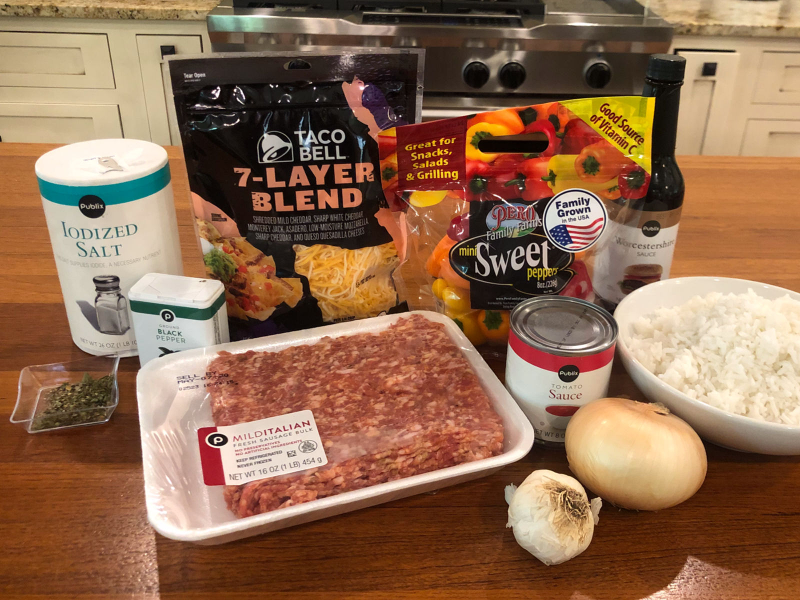 Bell Pepper Casserole - Super Meal To Go With The Sales At Publix on I Heart Publix