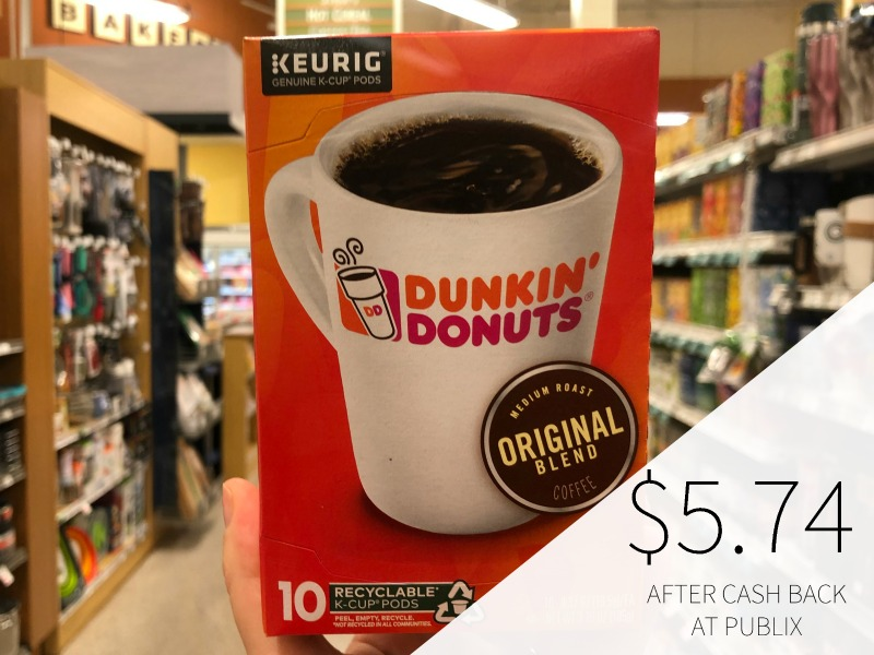 Dunkin' Donuts Coffee Products - Just $5.24 At Publix (Save Up To $4.25) on I Heart Publix