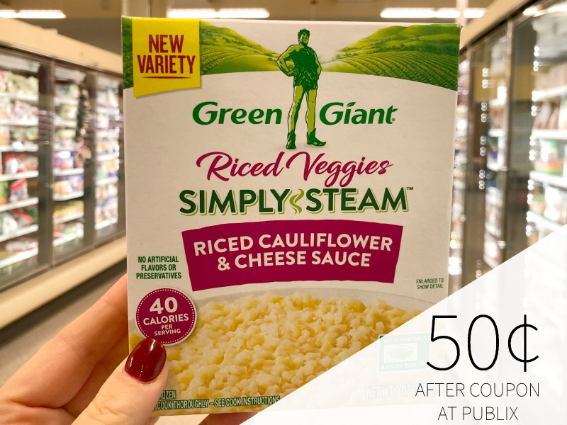 Green Giant Riced Veggies Just 50¢ At Publix on I Heart Publix