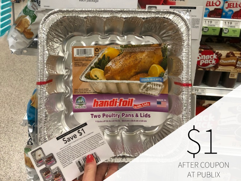 Handi-Foil Roaster Pan As Low As 49¢ With The New Coupon! on I Heart Publix 1