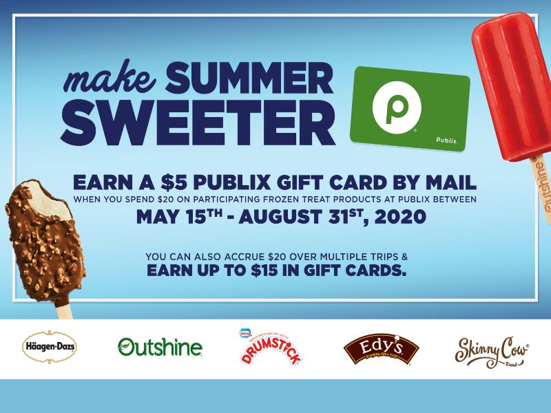 Have Happy On Hand Reward Offer Returns For 2020 - Stock Your Freezer & Earn A Publix Gift Card! on I Heart Publix 2