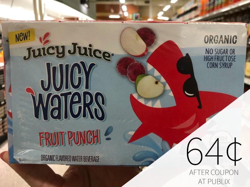 Juicy Juice Juicy Waters Just 50¢ At Publix on I Heart Publix 3