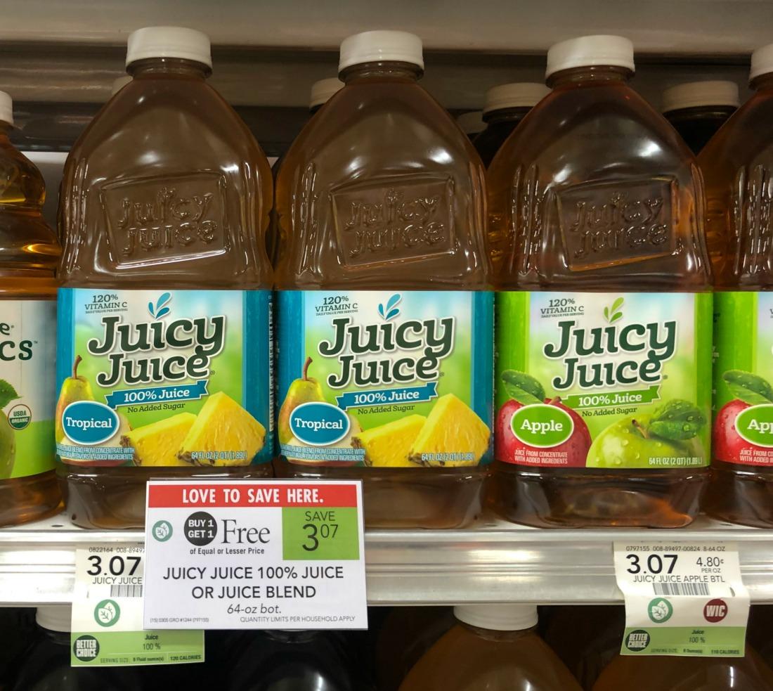 Juicy Juice Only $1 At Publix on I Heart Publix 2