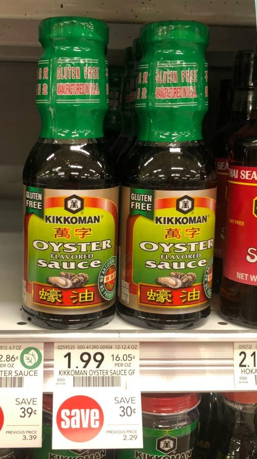 Kikkoman Oyster Sauce Just $1.44 At Publix on I Heart Publix