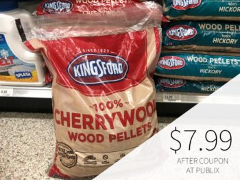 Kingsford Wood Pellets Just $7.99 At Publix (Less Than Half Price!) on I Heart Publix