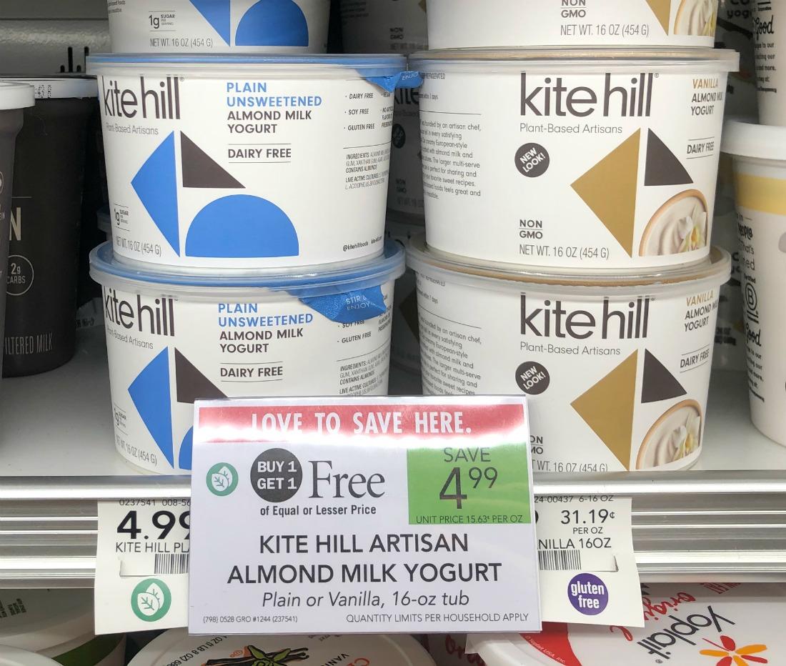 Kite Hill Artisan Almond Milk Yogurt - BIG Tubs Just $1.75 on I Heart Publix