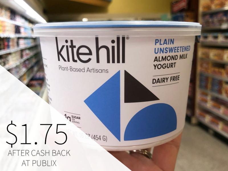 Kite Hill Artisan Almond Milk Yogurt - BIG Tubs Just $1.75 on I Heart Publix 1