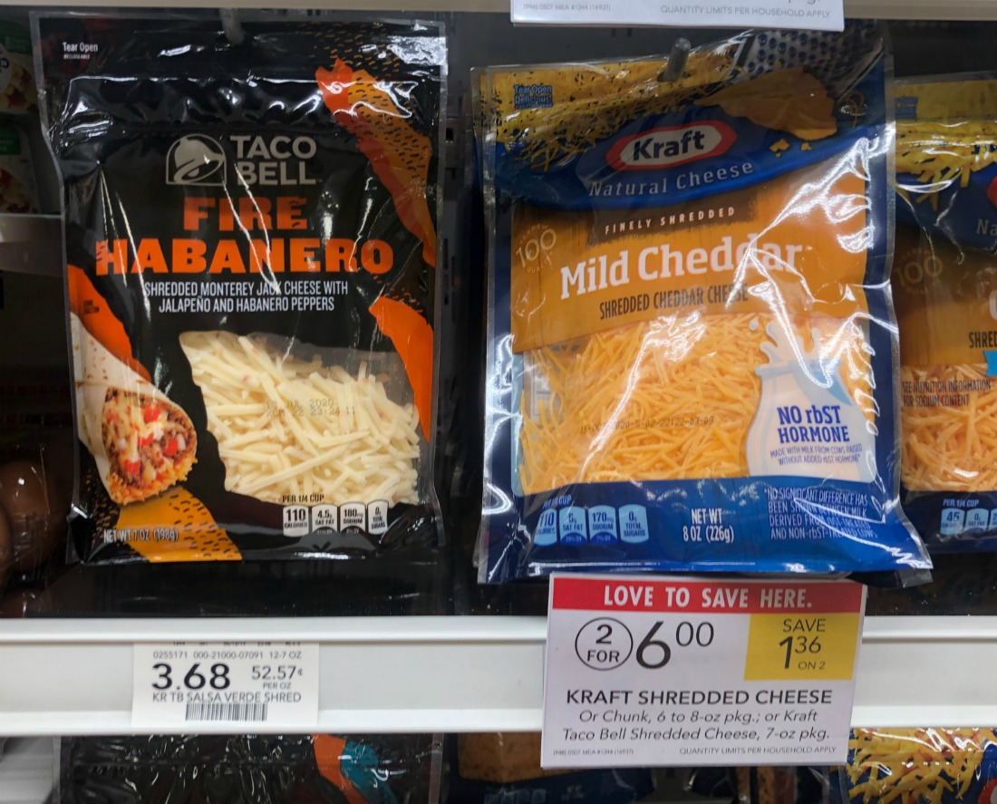 Taco Bell Shredded Cheese Just $2.25 At Publix on I Heart Publix 1