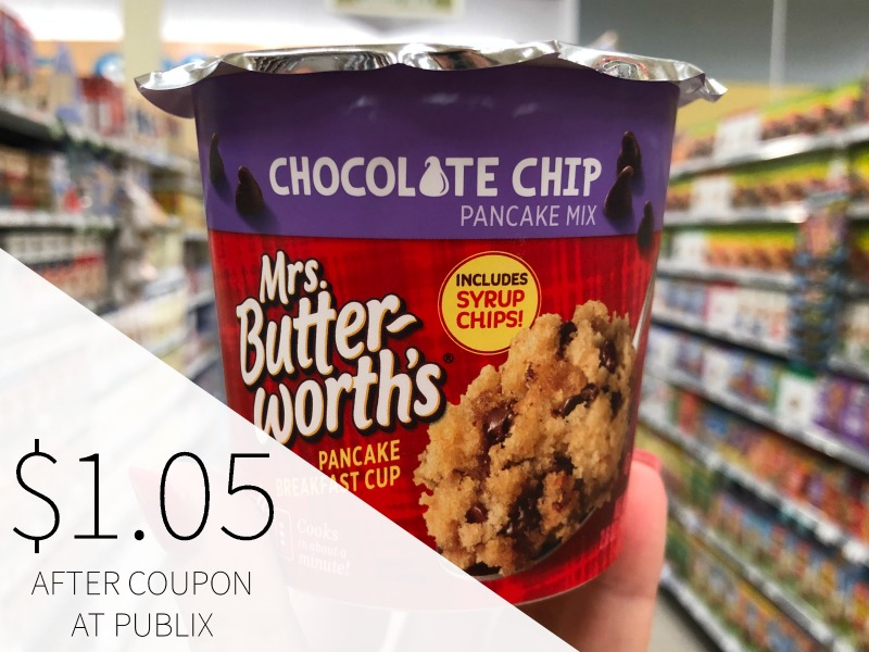 Mrs. Butterworth'sPancake Breakfast Cup Just $1.05 At Publix on I Heart Publix 1