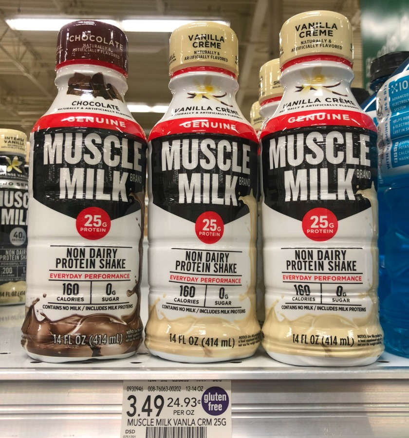 FREE MUSCLE MILK At Publix on I Heart Publix