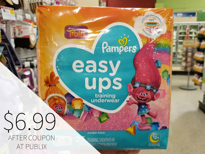 Pampers Easy-Ups Training Pants Only $4.99 At Publix (Half Price!!) on I Heart Publix 1