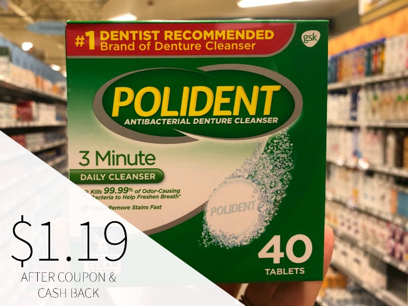 Polident Tablets Just $2.19 At Publix on I Heart Publix
