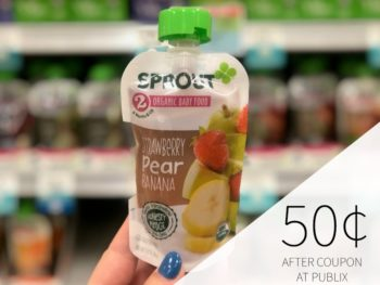 Sprout Baby Food Just 50¢ Per Pouch At Publix on I Heart Publix