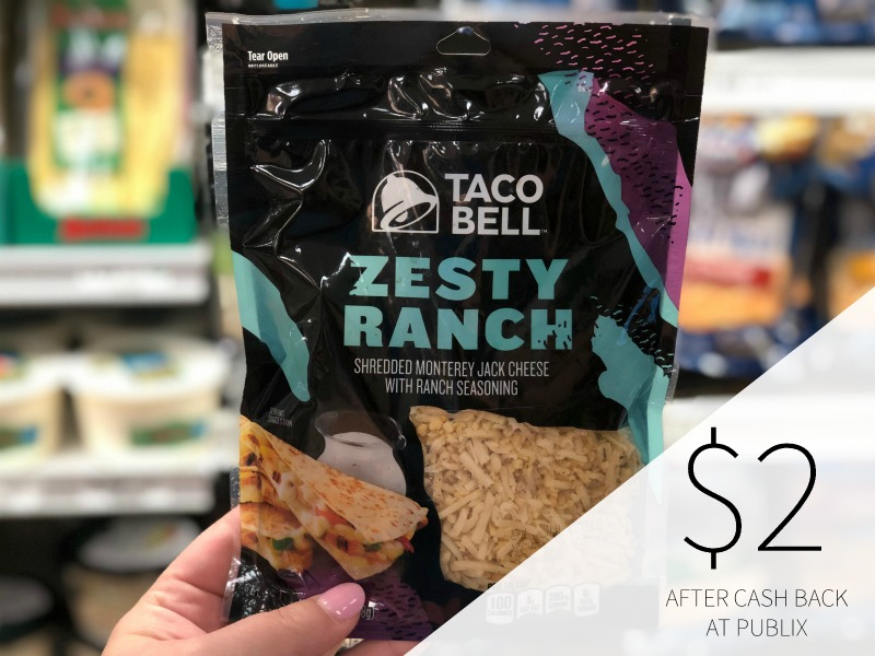 Taco Bell Shredded Cheese Just $2.25 At Publix on I Heart Publix 2
