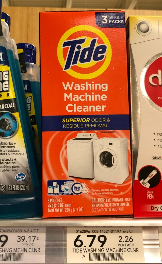 Tide Washing Machine Cleaner Just $4.09 At Publix on I Heart Publix 2